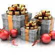 Stock Photo: Group of gifts