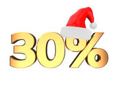 30 percent discount — Stock Photo
