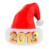 2013 christmas hat — Stock Photo