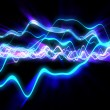 Stock Photo: Electric waves