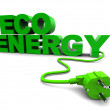 Eco energy — Foto de Stock