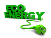Energía ecológica — Foto de Stock