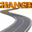 Stock Photo: Road to changes