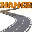 Road to changes — Foto Stock