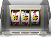 Dollar jackpot — Stockfoto