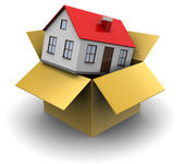 House in box — Stock Photo