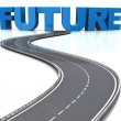 Stock Photo: Road to future