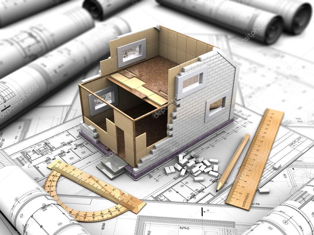 Home histoire de mise en page les deux photographie for Plans et dessins de construction