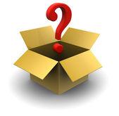 Unknown box — Stock Photo