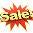 Big sale icon — Stock Photo #26827091
