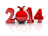 2014 new year and Christmas — Foto de Stock