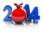 Año 2014 — Foto de Stock