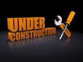 Under construction — Foto Stock