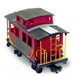 Stock Photo: Red Caboose
