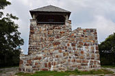 Stone Observation Tower — Stock Photo