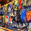 Backpacks in a Store - Stock Photo