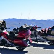 Motorcycles at Overlook — Stock Photo #13697667