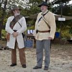 Men Dressed as Civil War Soldiers — Stock Photo