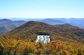 Parking Lot in the Mountains at Brasstown Bald — Stock Photo
