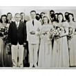 Stock Photo: Wedding Photo 1940