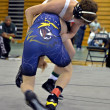 Teen Boys Wrestling - Stockfoto