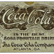 Stock Photo: Vintage Coke Memorabilia