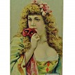 Stock Photo: Vintage Cigarette Card