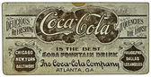 Vintage Coke Memorabilia — Stock Photo