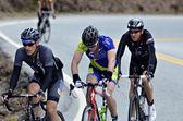 Men in Bicycle Race — Stock Photo