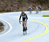 Gran Fondo Bike Race — Stock Photo