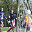 Young Girls Lacrosse — Photo