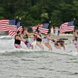 July Fourth on the Lake — Stock Photo #27752587