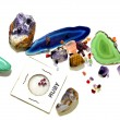 Stock Photo: Assortment of Gemstones