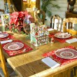 Christmas Table Setting — Stockfoto #36730843