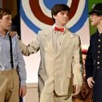 Постер, плакат: Teen Boys in a School Play