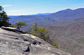Top of Looking Glass Mountain — Stock Photo