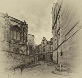 Old Edinburgh — Stock Photo