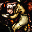 Stained glass from the church in Norway — Stock Photo #11795140