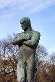Vigeland park in Oslo, Norway — Stock Photo