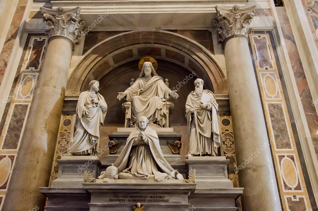 San Pietro Cattedrale In Vaticano Foto Editoriale Stock