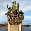 Maritime World War II Memorial in Oslo — Stock Photo