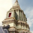 Wat Arun Temple of Dawn in Bangkok - Stock Photo