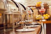 Food in restaurant — Stock Photo