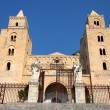 Cathedral-Basilica of Cefalu, Sicily - Stock Photo