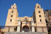 Cathedral-Basilica of Cefalu, Sicily — Stock Photo