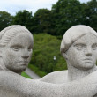 Vigeland park in Oslo, Norway — Stock Photo #12698900