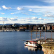 Stock Photo: Oslo harbor