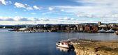 Oslo harbor — Stock Photo