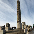 Foto de Stock  : Vigeland Park in Oslo, Norway