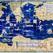 Ancient map of Mediterranean — Stock Photo